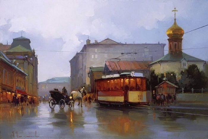 Улица мясницкая. Автор: Алексей Шалаев.
