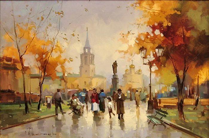 Тверской бульвар. Автор: Алексей Шалаев.