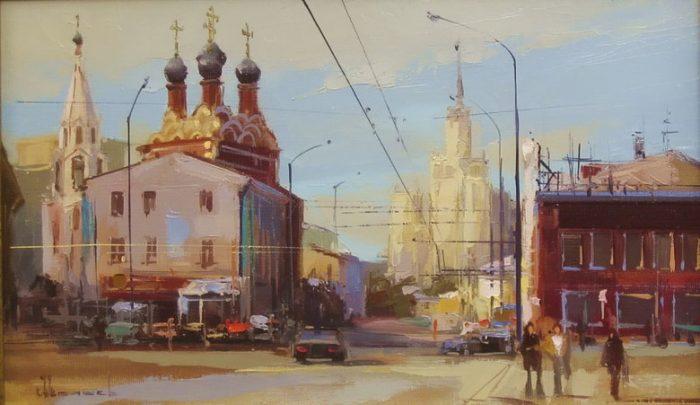 Таганская площадь. Автор: Алексей Шалаев.