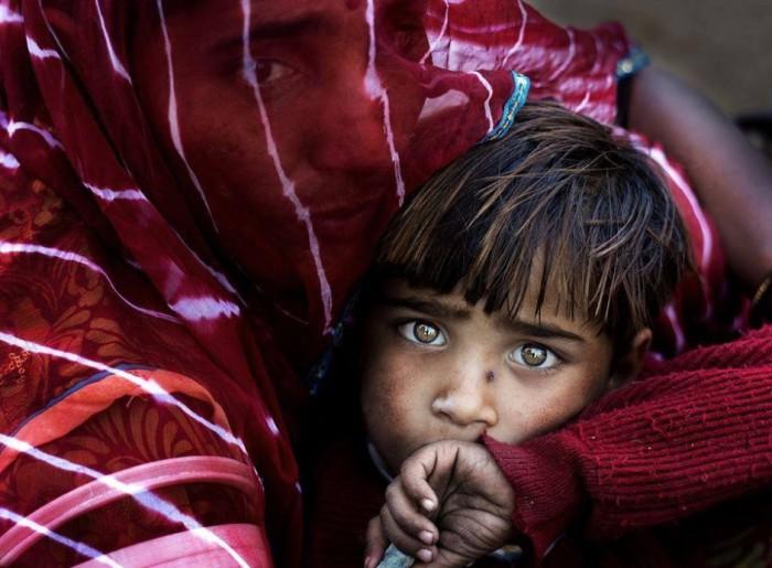 Портрет ребенка. Фото Alessandro Bergamini.