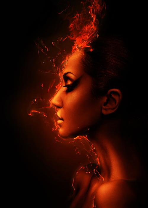 Огненная дива. Фото Alex Buts.