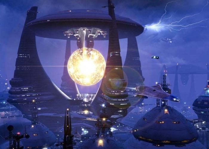 Мир будущего от Alex Wild.