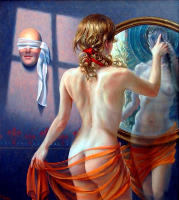 Водная стихия. Автор: испанский художник Алекс Алемани (Alex Alemany).