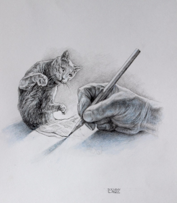 Шестой день творения. Автор: Александр Ботвинов.