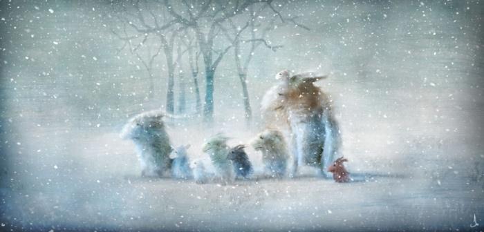 Зима. Автор: Александр Янссон (Alexander Jansson).