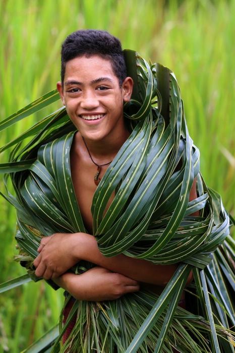 Самоанець, острів Савайі, Самоа.  Автор: Олександр Хомишина.