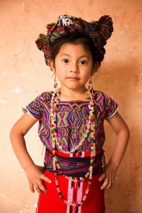 Дівчинка з громади Іксіл (Майя).  Автор: Олександр Хомишина.