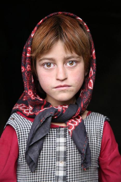 Дівчинка з народу Вахан, Ваханський долина, Афганістан.  Автор: Олександр Хомишина.