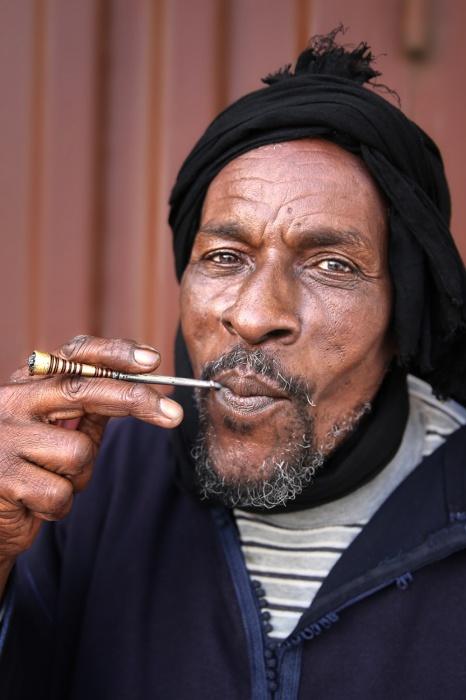 Чоловік з народу Сахараві, Дахла, Західна Сахара.  Автор: Олександр Хомишина.
