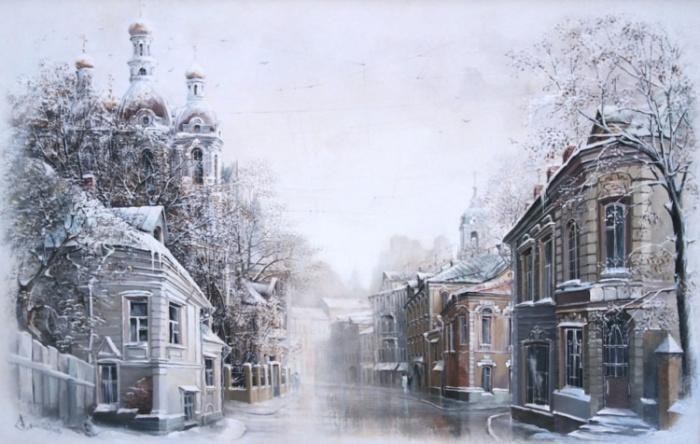 Рождество. Автор: Александр Стародубов.