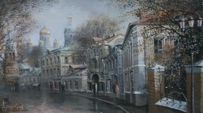 Московская старина. Автор: Александр Стародубов.