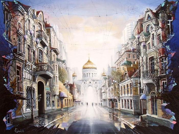 Я хочу к тебе туда, где свет... Автор: Александр Стародубов.