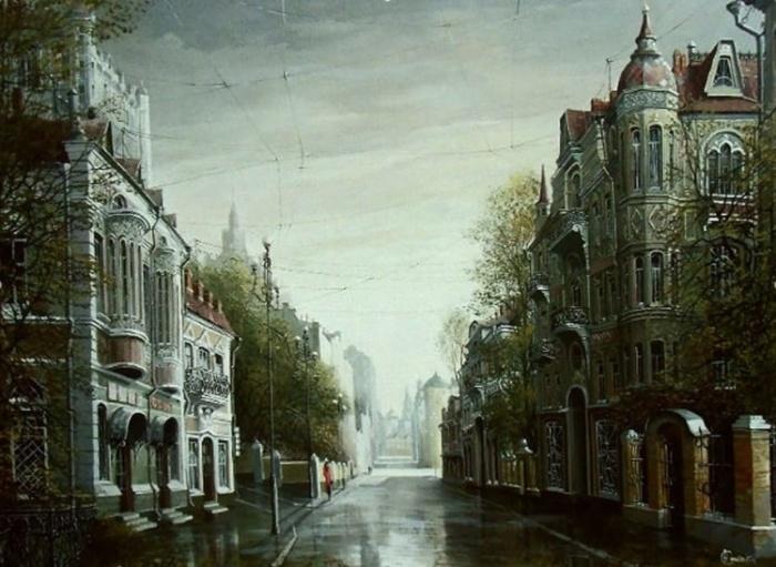 Город ушедших грёз. Автор: Александр Стародубов.