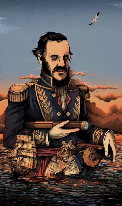 Великий капитан. Автор: Alexander Wells.