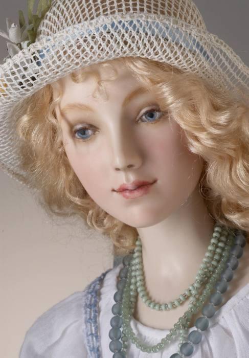 Невероятно живые куклы Александры Кукиновой.
