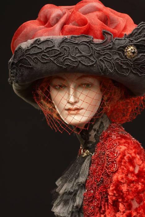 Каждая кукла полностью выполнена вручную. Автор: Александра Кукинова.