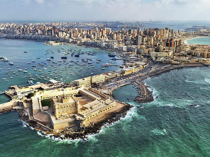 Александрия в Египте. \ Фото: twitter.com.