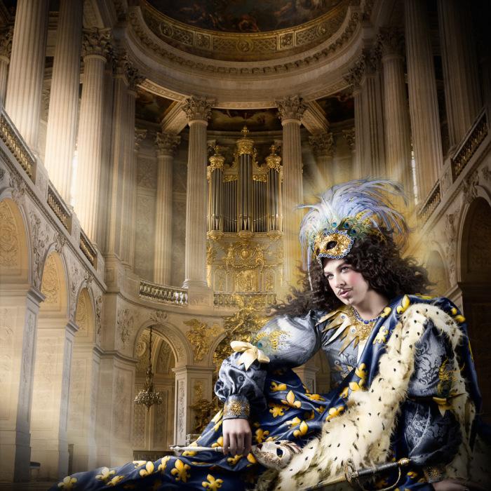 Людовик XIV. Автор фото: Алексия Синклер (Alexia Sinclair).