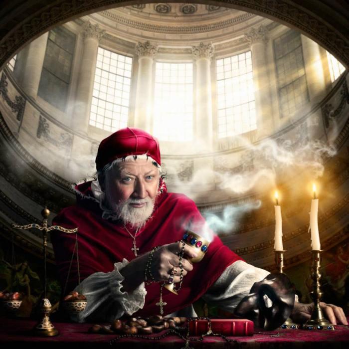 Папа Римский. Автор фото: Алексия Синклер (Alexia Sinclair).
