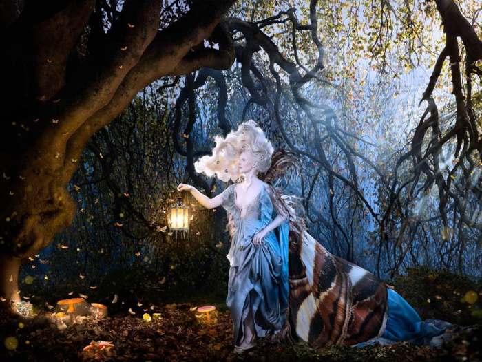 Лунный поцелуй. Из серии работ: В сумерках. Автор фото: Алексия Синклер (Alexia Sinclair).