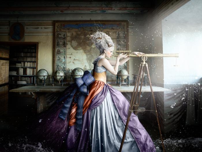 Любопытство. Из серии работ: Застывшая сказка. Автор фото: Алексия Синклер (Alexia Sinclair).