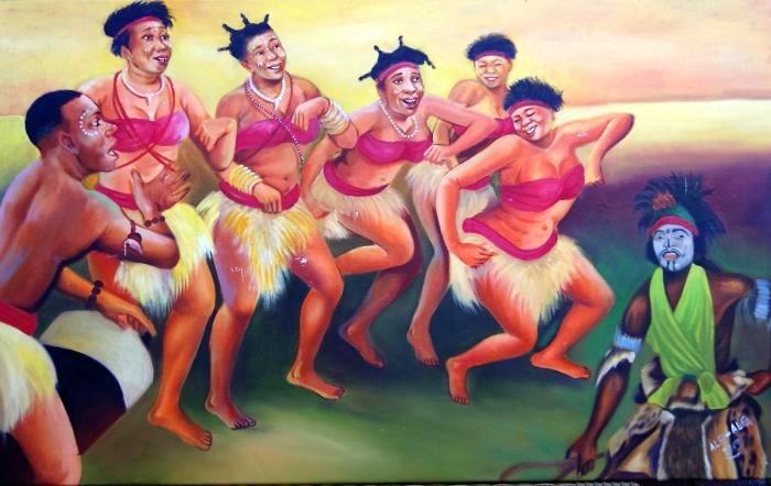 Танцуют все! Автор: Alfi Alfa.