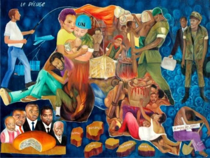 Всемирный потоп. Автор: Alfi Alfa.