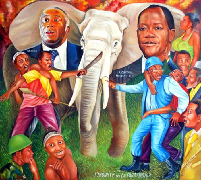 Работы, в которых затронуты щекотливые темы всех времён и народов. Автор: Alfi Alfa.