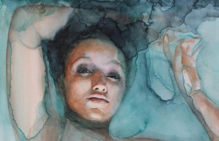 Чувственные картины Али Кавано.