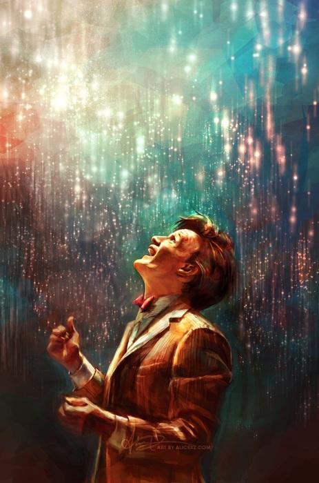 Доктор Кто: Безмолвных звёзд движение. Автор: Alice X. Zhang.