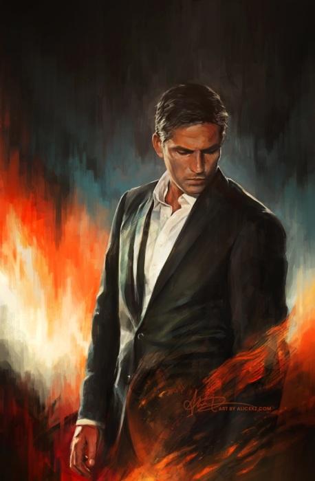 Он - тот, кто призван бороться со злом. Автор: Alice X. Zhang.