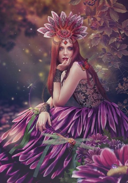 Королева осени. Автор: Василина (Алла Холодилина).