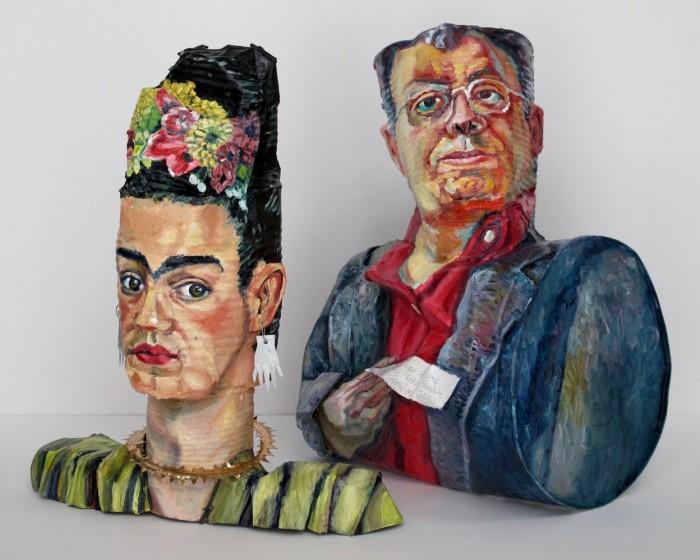 Фрида Кало и Диего Ривера, 2017 год. Автор: Allan Rubin.