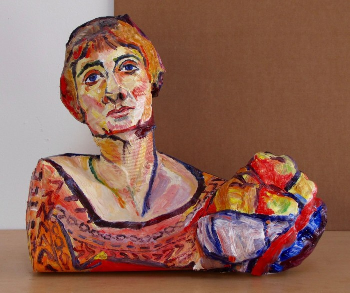 Сюзанна Валадон — французская художница и натурщица; первая женщина, принятая во французский союз художников. Автор: Allan Rubin.