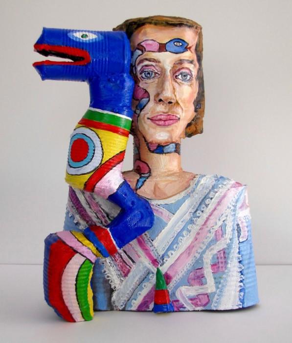 Ники де Сен-Фалль — французская театральная художница и скульптор, представительница нового реализма. Автор: Allan Rubin.