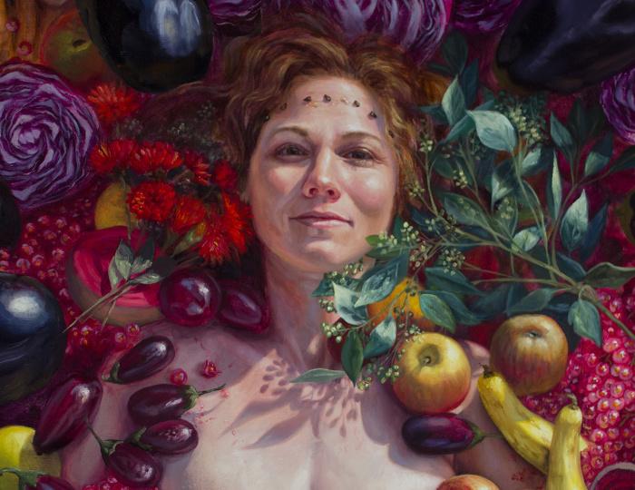 Сочный портрет. Автор: Alonsa Guevara.