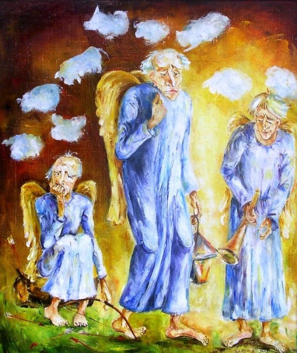 Старые ангелы. Автор: Alvydas Sapoka.