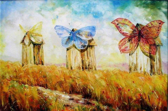 Ветряные мельницы. Автор: Alvydas Sapoka.