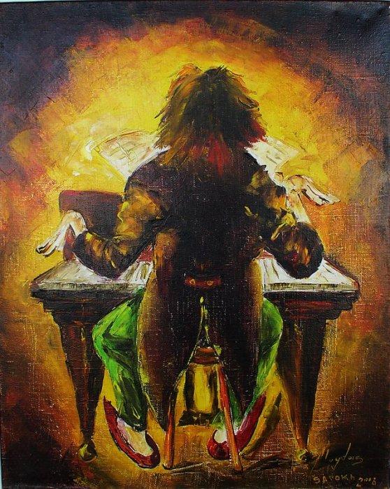 Пианист. Автор: Alvydas Sapoka.