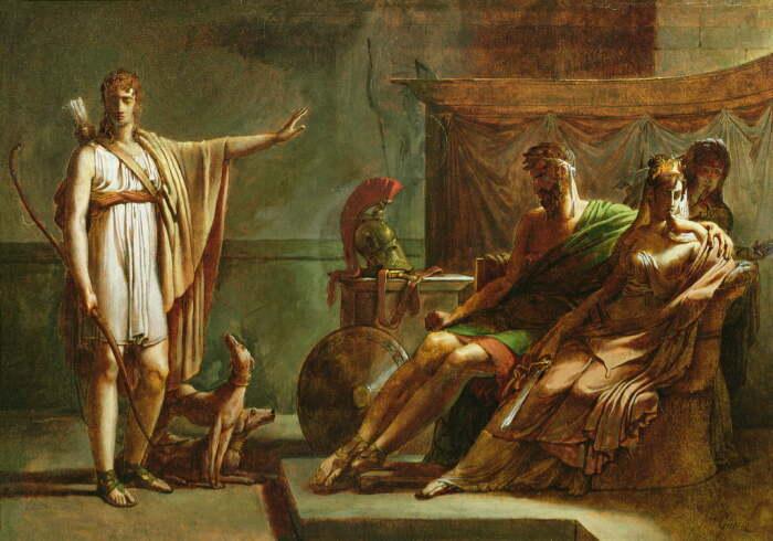 Федра и Ипполит, Барон Пьер Нарсис Герен, 1802 год. \ Фото: meisterdrucke.it.