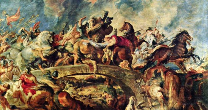Битва греков с амазонками, Питер Пауль Рубенс, 1615 год. \ Фото: hu.pinterest.com.