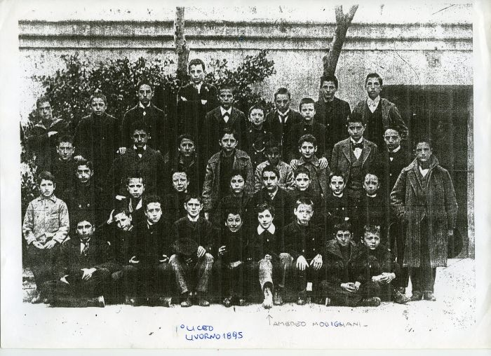 Амедео Модильяни в детстве. \ Фото: mostramodigliani.livorno.it.