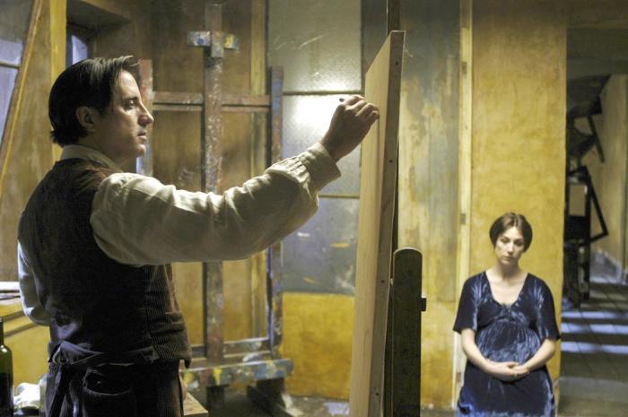 Кадр из фильма: Модильяни. \ Фото: kudago.com.