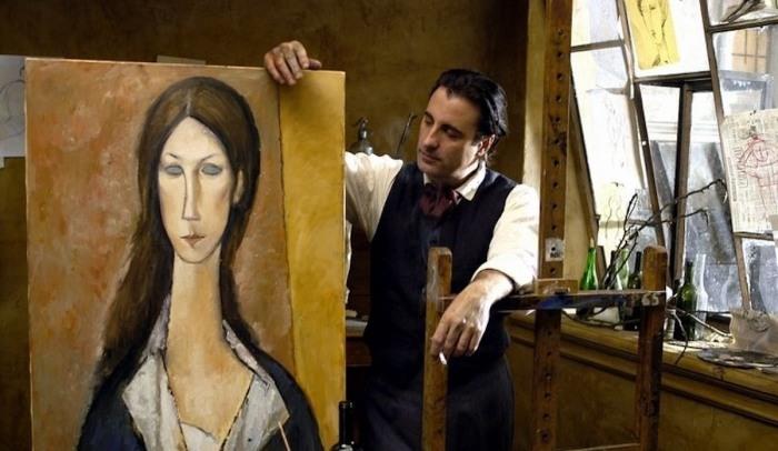 Кадр из фильма: «Модильяни», 2004 год. \ Фото: yandex.ua.