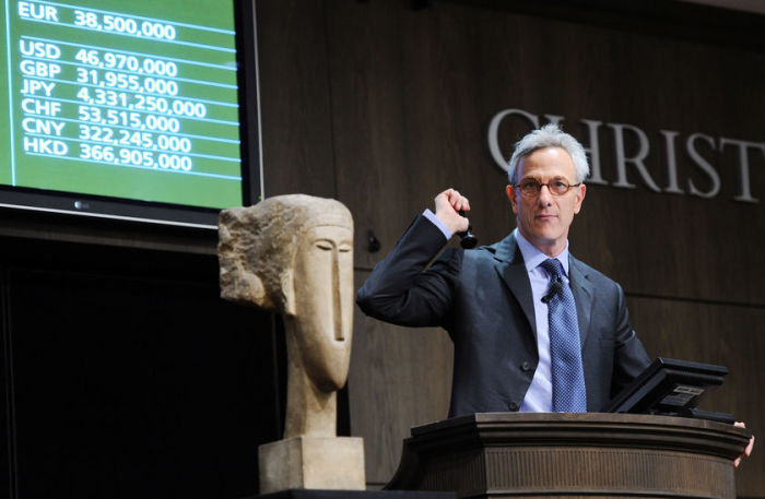 Скульптура Модильяни устанавливает рекорды в Париже. \ Фото: luxuo.com.