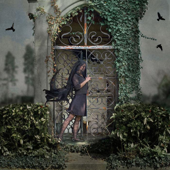 Невероятные работы Амели Бёртон (Amelie Berton).