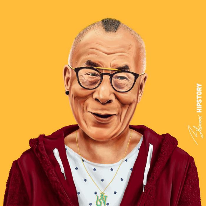 Далай-лама. Автор: Amit Shimoni.
