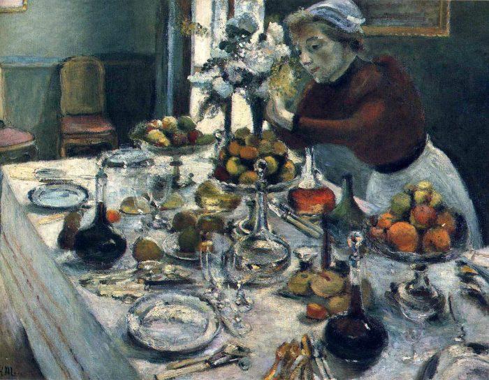 «Обеденный стол». \ Фото: hudojnik-impressionist.ru.