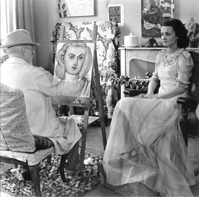 Непревзойдённая муза великого Матисса. \ Фото: pinterest.com.