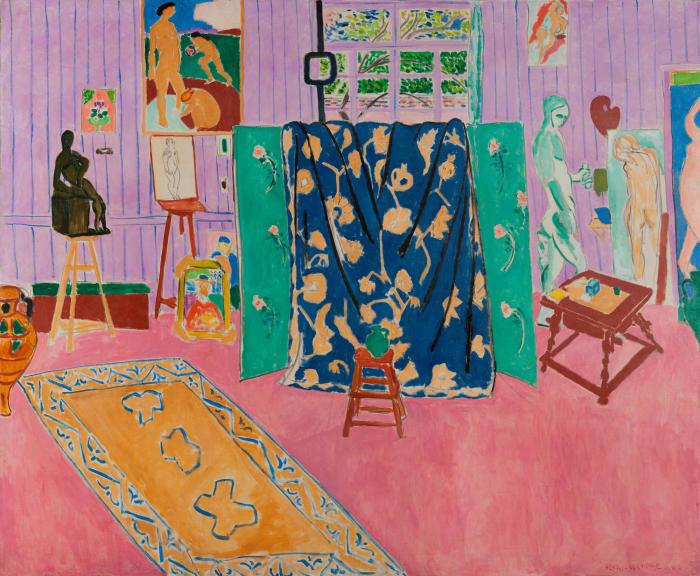 Анри Матисс: «Мастерская художника (Розовая мастерская)». \ Фото: ar.culture.ru.